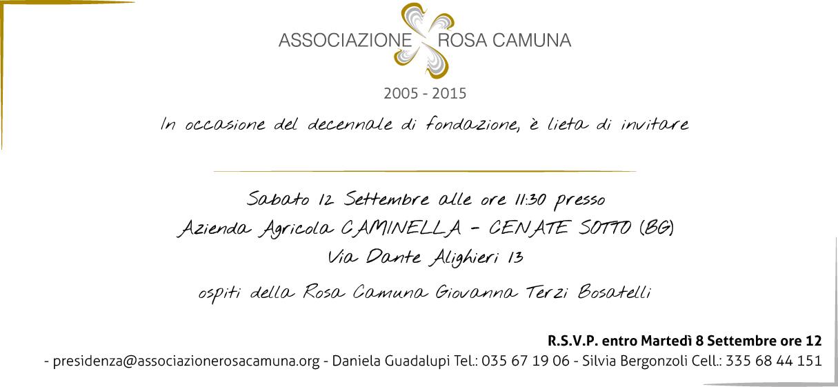 Decenale Rosa Camuna